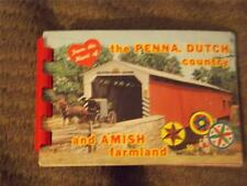 """Mini Photo Album, """"From the Heart of Penna. Dutch Country and Amish Farmland"""""""