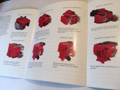 I Briggs Stratton Original moteurs à pour vertical Brochure originale c moteur 1988 6wq1AxF8