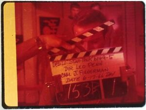 Star-Trek-TOS-35mm-Film-Clip-Slide-Enemy-Within-Clapper-Board-Kirk-Bridge-1-5-9