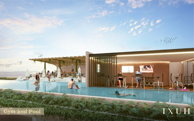 Departamento en Venta en Ixuh, Playa del Carmen, Quintana Roo, 2 Recámara