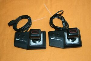 2 x Sega Control Stick Gamepad Controller Joystick Sega Master System