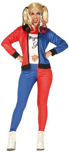 Ladies Twisted Squad Girl TV Comic Film Halloween Fancy Dress Costume Outfit