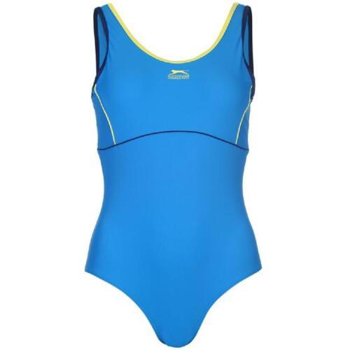 Slazenger Schwimmanzug Badeanzug Schwimmen Swimming Suit 42-48 XL 3XL 4XL Bas