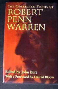 The Collected Poems of Robert Penn Warren. ed. by John Burt HB/DJ 1st FINE/FINE