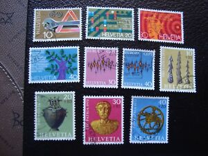 Switzerland-Stamp-Yvert-and-Tellier-N-895-A-904-Obl-A2-Stamp-Switzerland-S