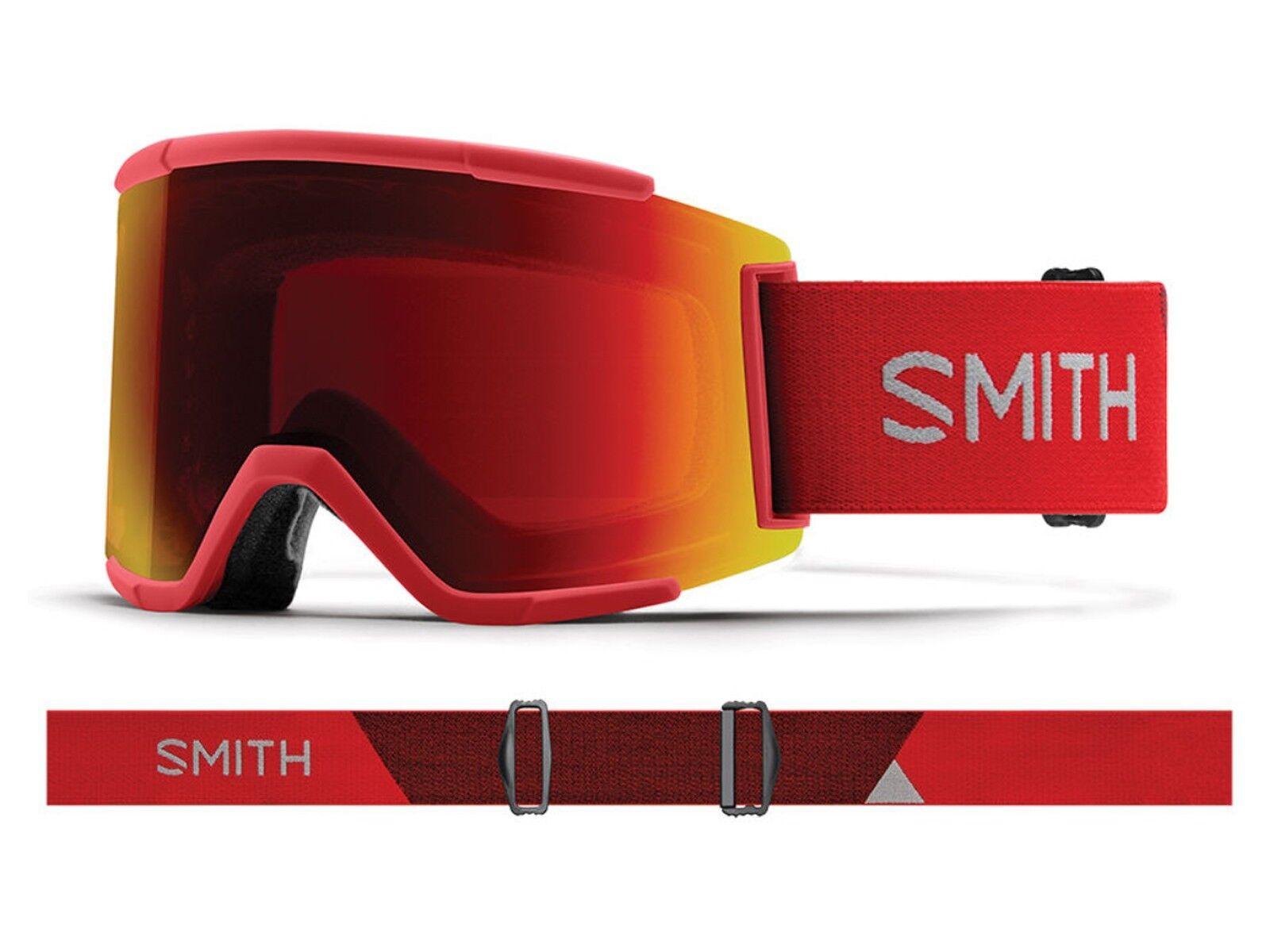 MASCHERA SCI SNOWtavola  LENTE OMAGGIO  SMITH  M00675 MP 2Y9  SQUAD XL CHROMAPOP