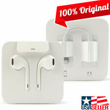 Apple EarPods with Lightning Connector White In-Ear Only Headsets for Mobile