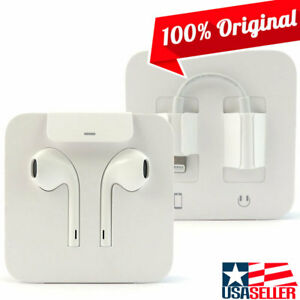 NEW Genuine Apple iPhone X 8 8 Plus Lightning Earpods