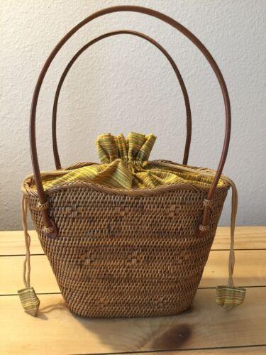 Peggy Fisher Woven Handbag