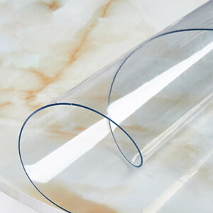 1-5mm-PVC-Clear-Tablecloth-Round-Transparent-Table-Protector-Cover-Waterproof