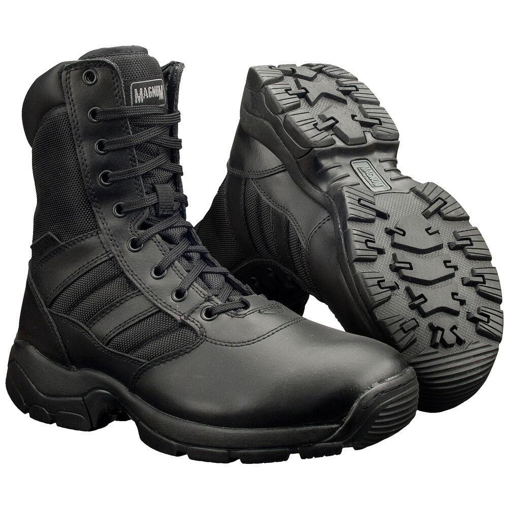Casual salvaje Magnum Pantera 8.0 Patrulla Táctica Impermeable Botas Policiales Calzado Negro