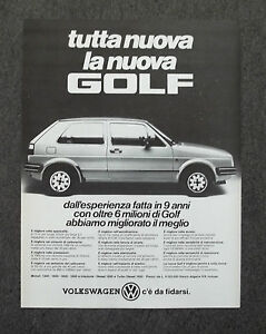 G050-Advertising-Pubblicita-1984-NUOVA-GOLF-VOLKSWAGEN-C-039-E-039-DA-FIDARSI