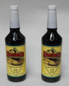 2-Pack-Gourmet-CHOCOLATE-SYRUP-32oz-Coffee-Drink-amp-Italian-Soda-Flavor