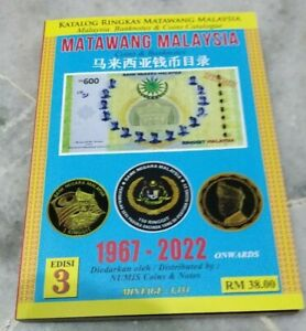 New-Edition-2020-Matawang-Malaysia-Coin-Banknote-Money-Raymond-catalog-1967-2022