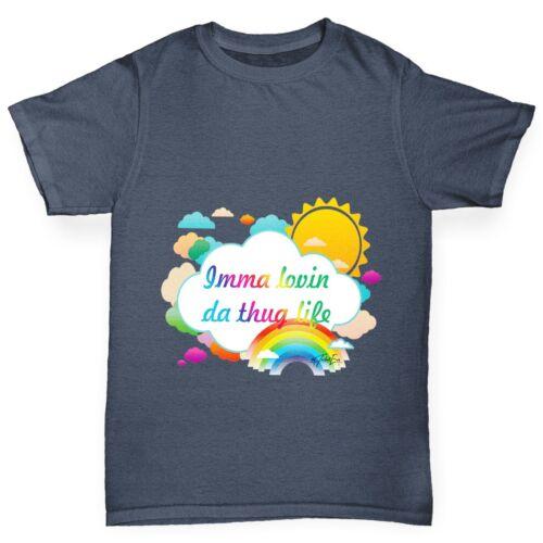 Twisted ENVY Ragazzo IMMA Lovin da Thug Life Rainbow T-shirt