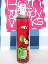 Bath and Body Works COUNTRY APPLE Fragrance Mist Spray 8 fl oz Full Size
