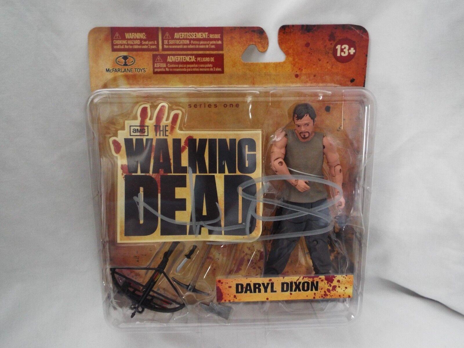 Autografiado Walking Dead Daryl Dixon TV Show Serie 1 figura 2011