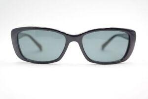 Vintage-Eschenbach-crush-855078-70-2030-49-16-Black-Oval-Sunglasses-NOS
