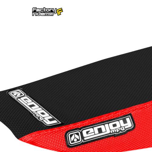 2013-2016 HONDA CRF 110 Red//Black FULL GRIPPER SEAT COVER BY Enjoy MFG