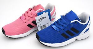 buy popular b927e 2939c Details about ADIDAS JUNIOR BOY GIRL SNEAKER SHOES CASUAL CODE BB2420 -  BB2421 TAG ZX FLUX C
