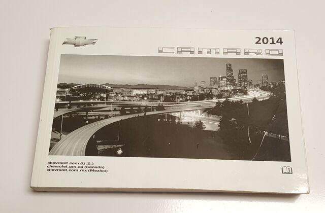 2014 camaro z28 owners manual