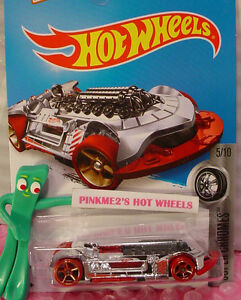 Astuccio-B-2016-Hot-Wheels-X-Steam-40-Cromo-Rosso-Nero-Oh5-Super-Chromes