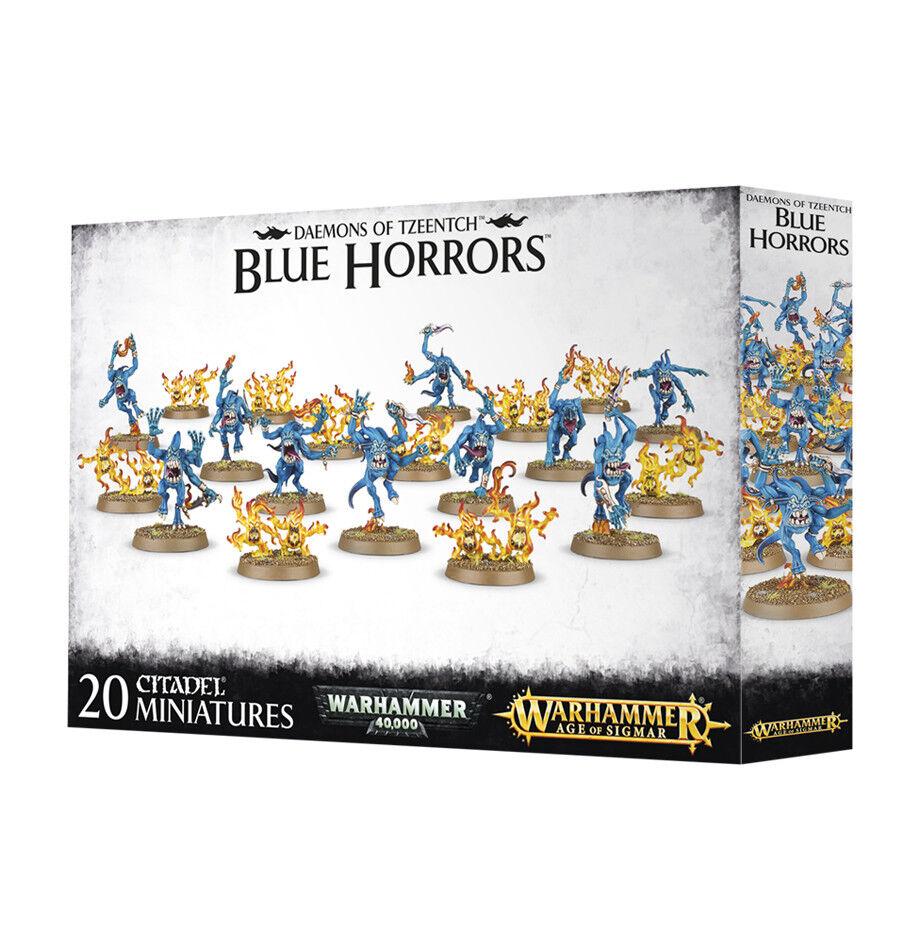 Tzeentch bluee Horrors Games Workshop GW Warhammer Age of Sigmar Chaos Daemons