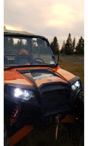 RZR 900 XP STYLE! 11-14 POLARIS RZR 800 NEW LED CONVERSION HEADLIGHTS KIT