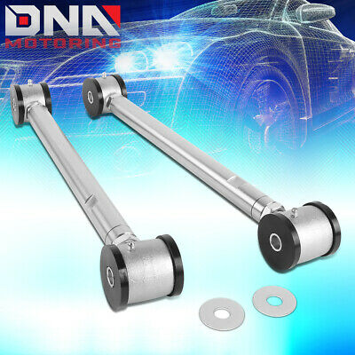 DNA Motoring RLCA-ZTL-301 2 PCs Adjustable Rear Lower Suspension Control Arms w//Bushing Replacement