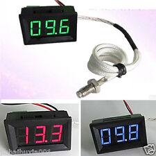 0℃+999℃ Thermometer digital LED Temperatur Anzeige Temperaturanzeige 8V 12V CAR