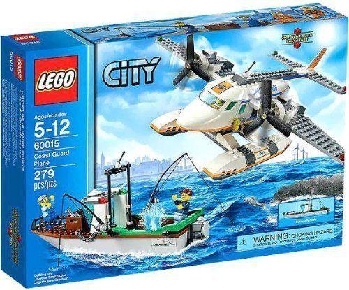 LEGO City Coast Guard Plane 60015 FREE SHIPPING  Retired