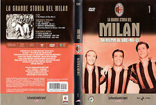 La grande storia del Milan 1 - Da Kilpin al Gre-no-li (DVD)