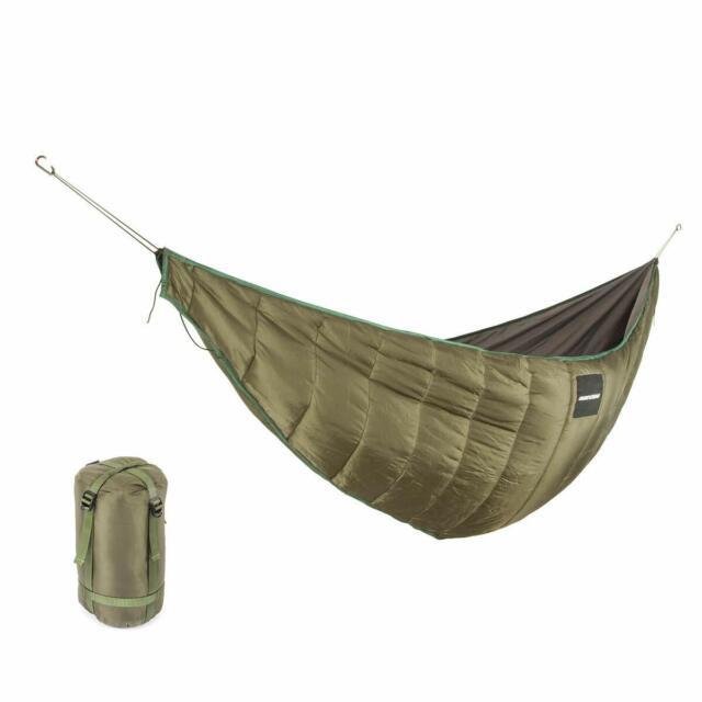 Lixada Outdoor Camping Hammock Portable Winter Thermal Travel Under Quilt w//Bag
