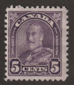 CANADA-1930-169-King-George-V-034-Arch-Leaf-034-Issue-F-MH