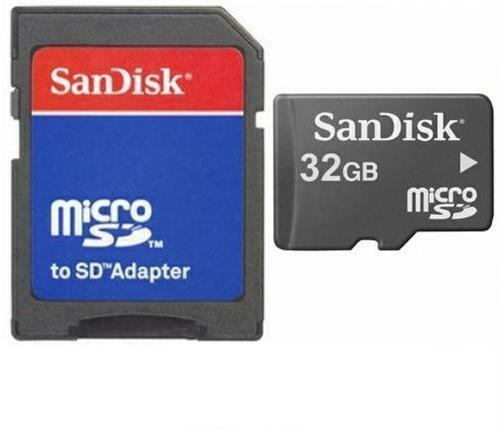 32GB Micro SD SDHC Speicherkarte Karte für Wiko Robby s-kool Slide Sunny Sunset