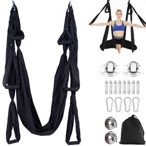 Yoga Swing Sling Hängematte Trapez Luft Seide Anti-Schwerkraft Inversion Kit