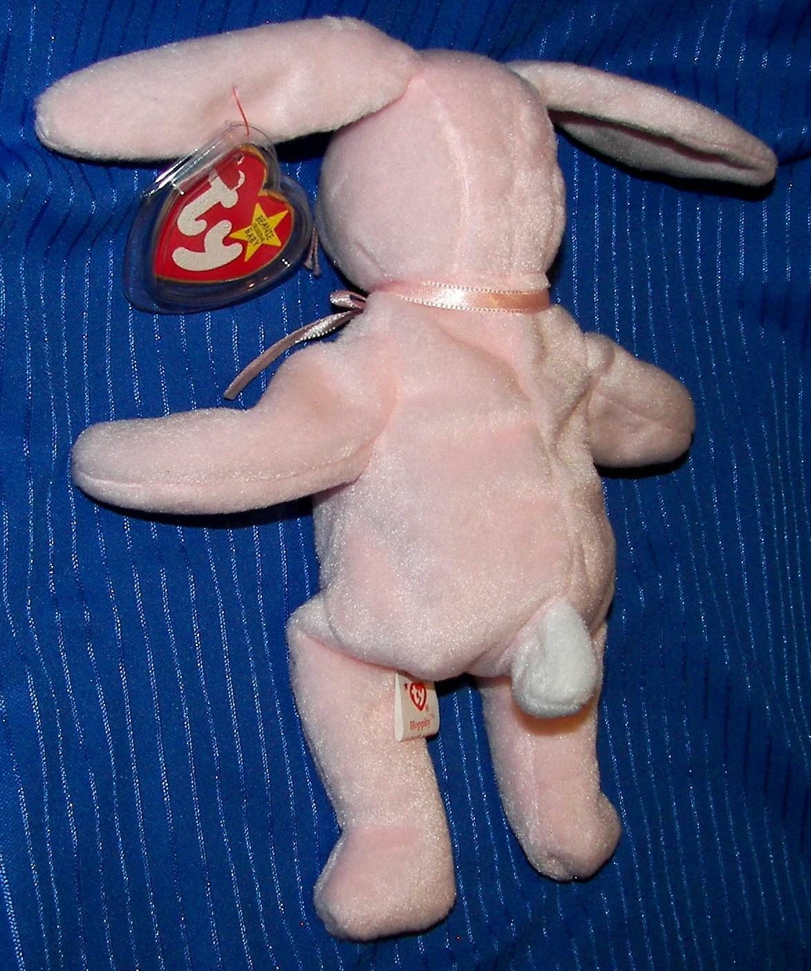 VERY RARE 'Ty' HOPPITY Beanie Babie w w w  Lots of Tag & Physical Errors, Mint Cond 246020