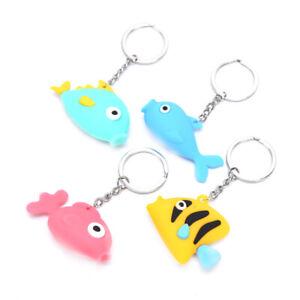 PVC-Soft-Ocean-Fish-Cute-Pendant-Key-ring-Key-chain-Car-Bag-Key-Souvenir-Gi-Px
