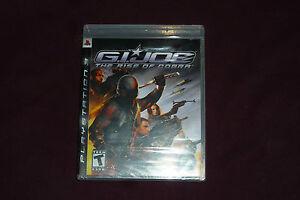 G.I. Joe: The Rise of Cobra (Sony PlayStation 3, 2009) NEW & FACTORY SEALED