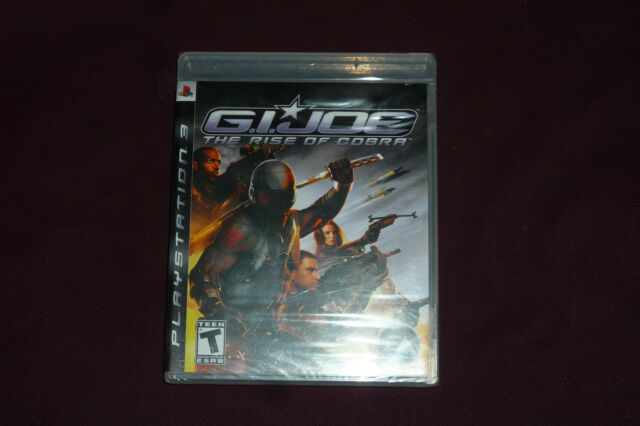 G.I. Joe: The Rise of Cobra (Sony PlayStation 3, 2009) NEW & FACTORY SEALED