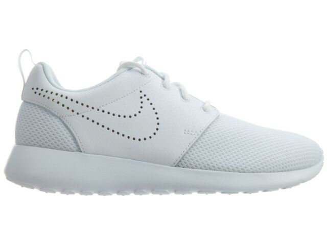 1e9a0a879224 Nike Roshe One Premium Womens 833928-101 White Blue Tint Running Shoes Size  6.5
