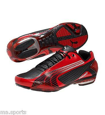 New PUMA DUCATI TESTASTRETTA RED MENS MOTORCYCLE INSPIRED TRAINERS BOOTS RRP £95