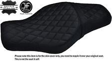 BLACK DIAMOND ST CUSTOM FOR HARLEY SPORTSTER 883 1200 TWO UP VINYL SEAT COVER
