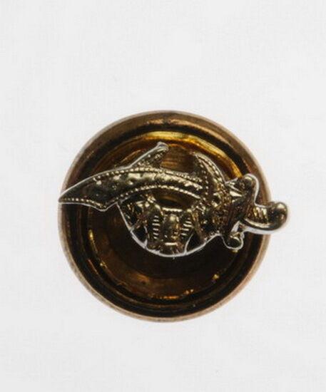 Mens 14K White gold Shriner Sword Masonic Fraternal Estate Pin 77155