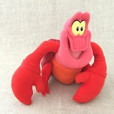 The Little Mermaid Plush Sebastian Crab Stuffed Animal Disney Red Lobster Cute