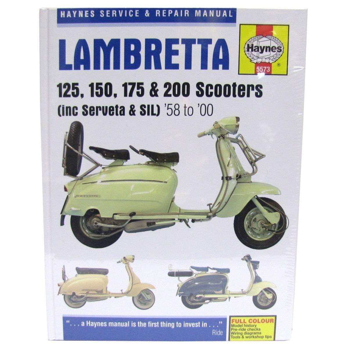 Manual Haynes For 1966 Lambretta Li 125 Series Iii Ebay Wiring Diagram Vespa Px150e Norton Secured Powered By Verisign