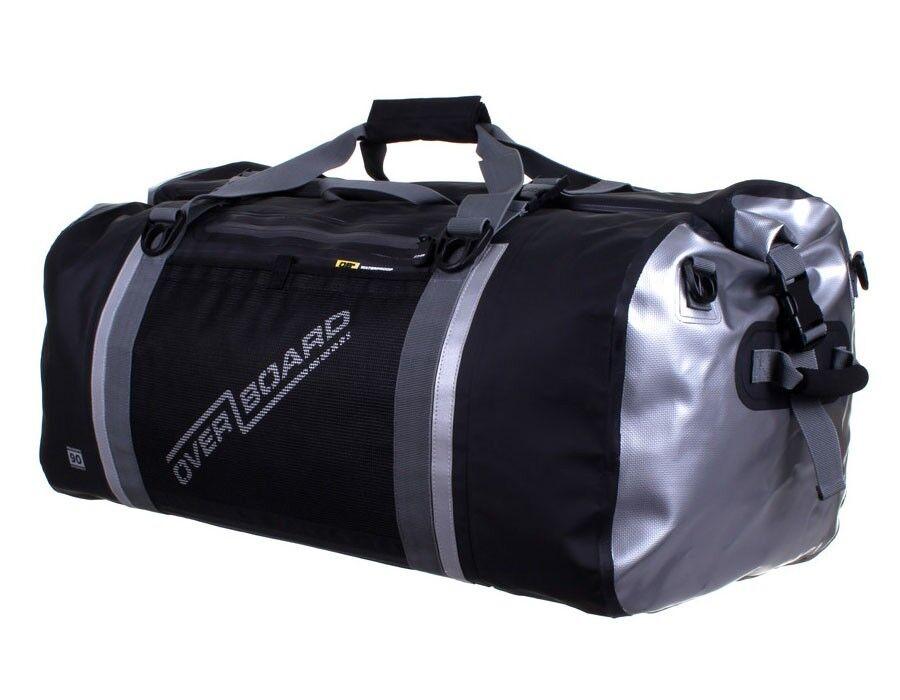 IMPERMEABILE borsa da viaggio Duffel Duffle Bag Drybag Overboard 90 LITRI NERO
