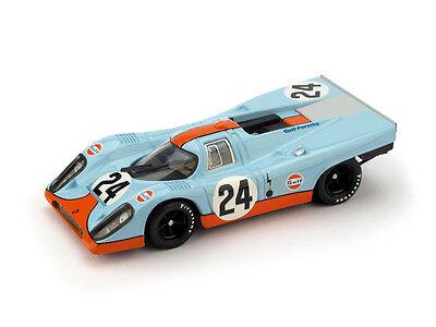 Porsche 917K Gulf #24 Winner 1000 Km Spa 1970 Siffert Redman 1:43 Model BRUMM