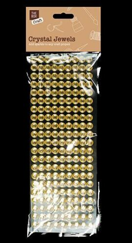 CRYSTAL JEWELS SELF ADHESIVE STICK ON GEMS ARTS CRAFTS Diamante Rhinestone