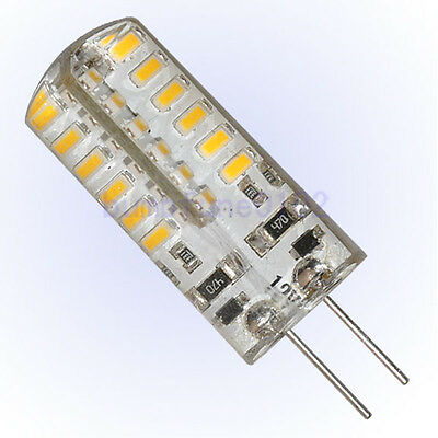 1 x Bright 48 SMD LED Lamp 1.2W Warm White Light Bulb G4 12v = 30w Incandescent